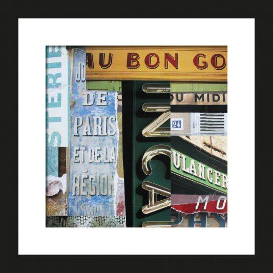 Café du Midi Collage